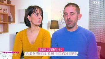 Familles nombreuses : Diana et Gérôme Blois, leur 1er bisou ne fait pas du tout rêver