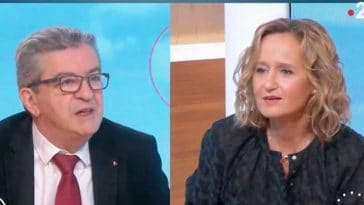 """Grosses tensions dans """"Télématin"""" : Jean-Luc Mélenchon nerveux, il s'en prend à Caroline Roux"""