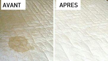 Nettoyage du matelas : 6 astuces incroyables, simples et hyper efficaces