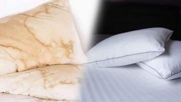Nettoyage oreillers : Voici une astuce incroyable pour les rendre comme neufs !