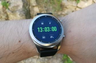 Samsung Gear S3 : notre test & avis, le meilleur modèle du marché ? (Bon plan : ODR de 50€ + bracelet offert)
