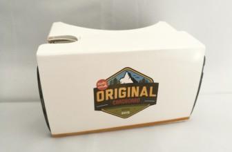 Original Cardboard V2.2 : notre test & avis du casque VR français