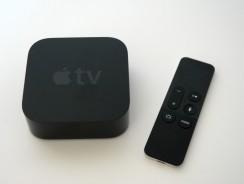 Test de l'Apple TV 4ème génération (2015)