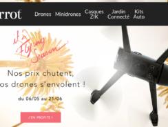 """Parrot """"Flying Season"""" : jusqu'à 150€ de réduction sur les drones"""