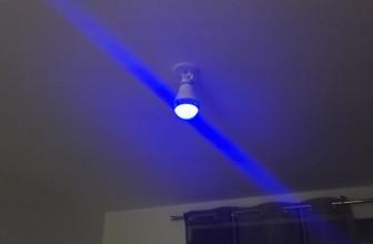 Concours + Notre test de l'ampoule connectée Mipow Playbulb Color