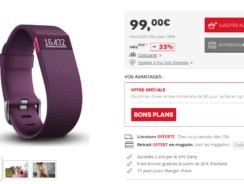 [Soldes 2017] Fitbit Charge HR à 89€ (au lieu de 130€ mini)