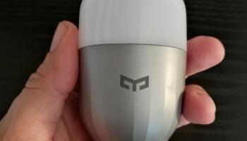 Xiaomi Yeelight RGBW : notre test de l'ampoule connectée à 18€