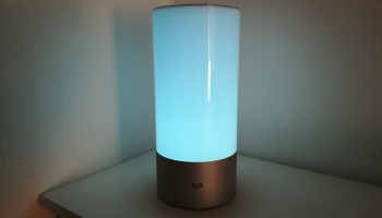 Xiaomi Yeelight : test & avis sur la lampe de chevet connectée