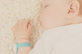 Neebo : un bracelet connecté pour surveiller bébé
